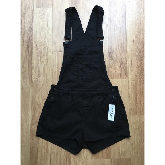 b90228424b Pacsun Black overalls